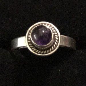Vintage 925 Sterling Silver Ring Size 5